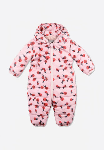 Ladybird Print All-In-One Puffer