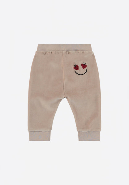 Lillibet Baby Velour Trousers