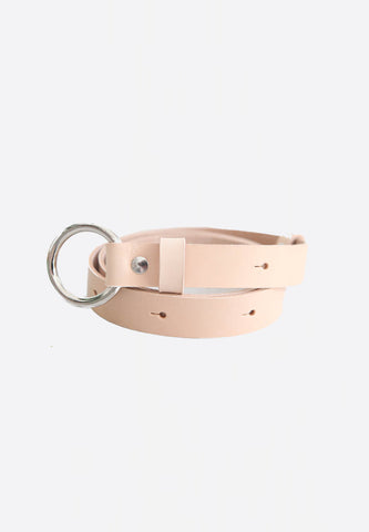 Leather Belt Nude