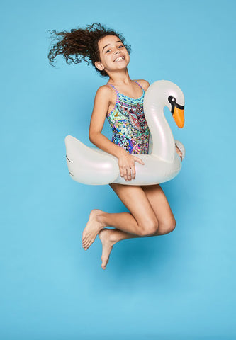 Kiddy Float Pearl Swan