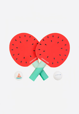 Watermelon Ping Pong Play On