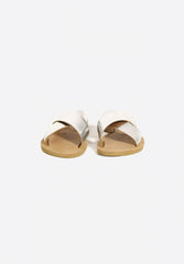 Gaelle Sandals Shiny Silver