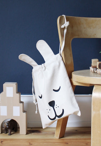 Fabric Bag Bunny Small