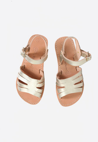 Alienor Sandals Mat Gold