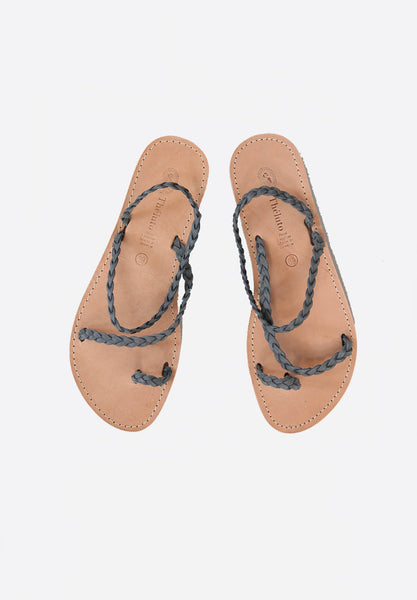 Catherina Sandals Suede Grey