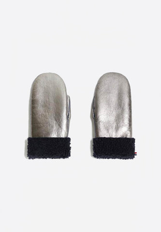 Toasties Kids Mittens Silver