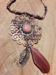 Autumn Dreamcatcher Necklace
