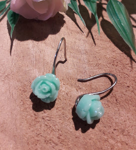 Small Roses Earrings