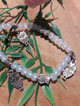 Load image into Gallery viewer, Owl Charm Bracelet White