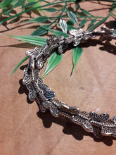 Load image into Gallery viewer, Circle of Butterflies Bracelet Silver