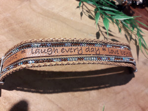 Message Bracelet Brown