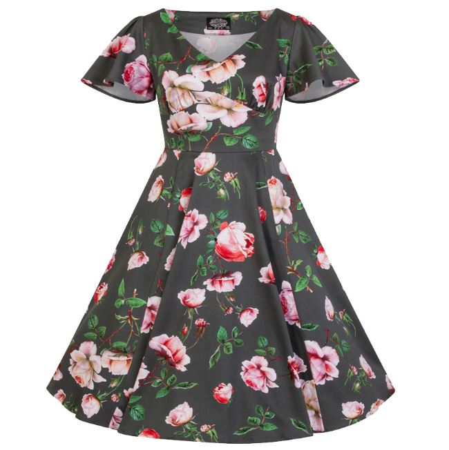 Amour Kids Dress Navy