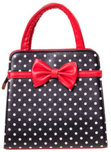 Load image into Gallery viewer, Carla Bag Black Red