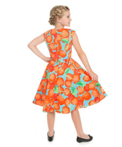 Ann Cherry Blue Kids Dress