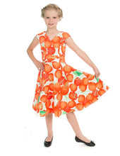 Load image into Gallery viewer, Ann Cherry White Kids Dress