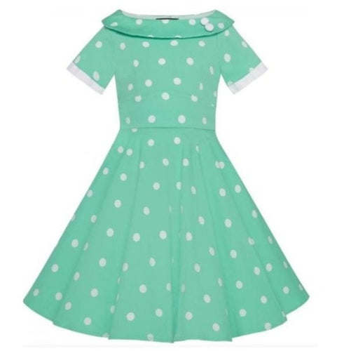 Darlene Kids Dress Mint