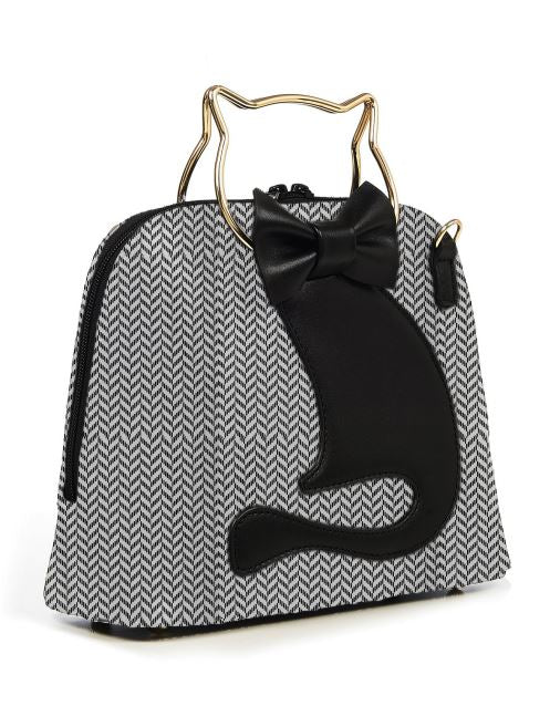 Dixie Cat Bag Grey