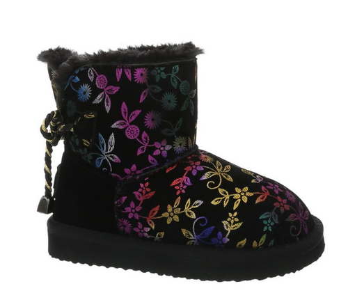 Floral Kids Boots