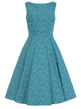 Load image into Gallery viewer, La Rosa Dress Blue