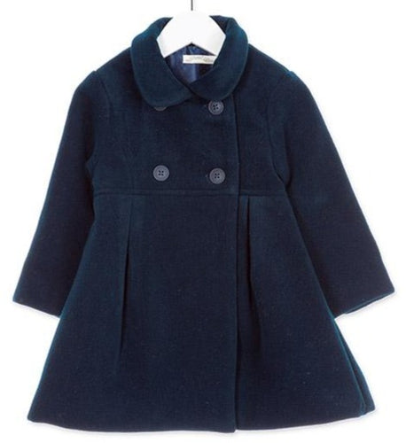 Mary Kids Coat Navy