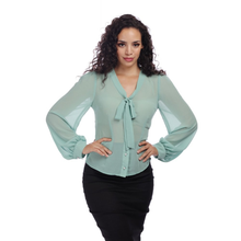 Load image into Gallery viewer, Luiza Blouse Green
