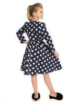 Load image into Gallery viewer, Milana Kids Dress Blue