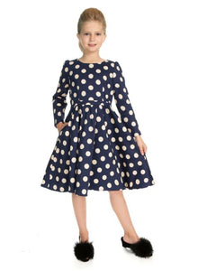Milana Kids Dress Blue