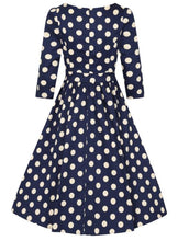 Load image into Gallery viewer, Milania Dress Navy