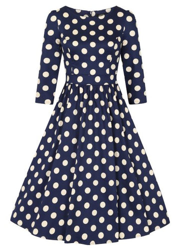 Milania Dress Navy