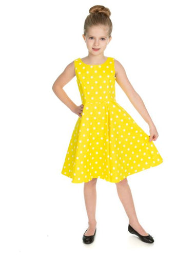 Say Yellow Kids Dress