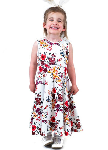 Sibine Flower Kids Dress