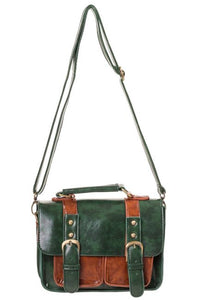 Small Retro Handbag Green