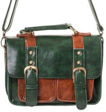 Load image into Gallery viewer, Small Retro Handbag Green