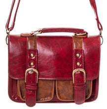 Load image into Gallery viewer, Small Retro Handbag Red