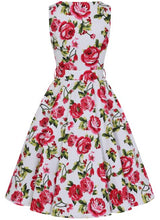 Load image into Gallery viewer, Sweet Rose Dress White