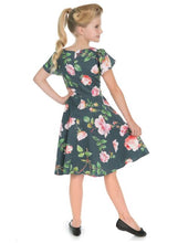 Load image into Gallery viewer, Amour Kids Dress Navy