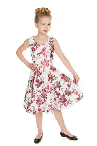 Aphrodite Kids Dress White