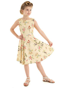 Brid Kids Dress Yellow
