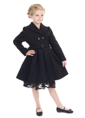Jasmine Kids Coat Black