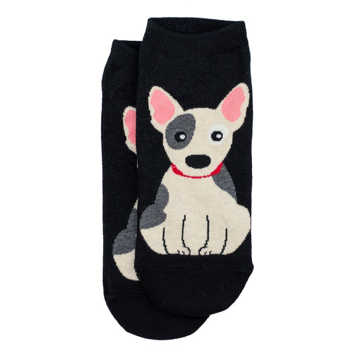 Bert Socks Bull Terrier Black