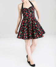 Load image into Gallery viewer, Cherry Halter Dress