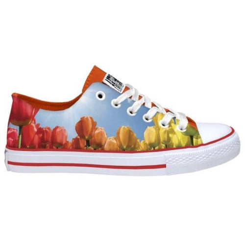 Colourful Tulip Sneakers