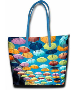 Colourful Umbrella Shopper