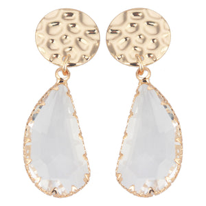 Crystal Earring Gold