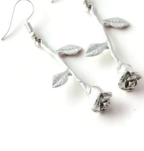 Dangle Rose Earrings