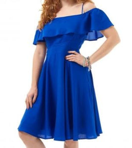 Royal Darcey Dress Blue