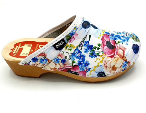 Dina Clogs Big Flowers