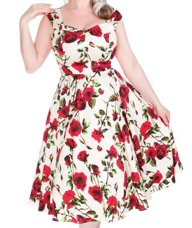 Ditsy Rose Dress