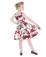 Load image into Gallery viewer, Ditsy Rose Kids Dress