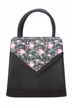 Load image into Gallery viewer, Flamingo Bow Bag Black